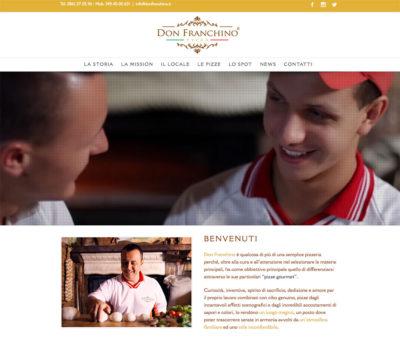 Don Franchino nuovo sito web