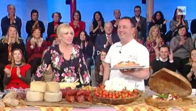 Antonella Clerici e Don Franchino
